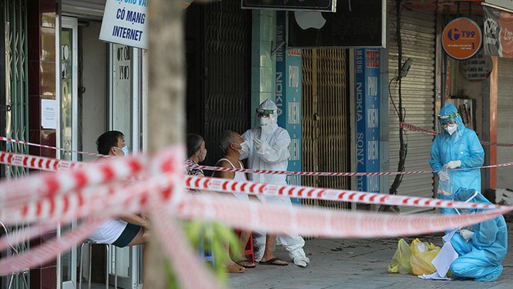 Hanoi, extend social distancing, beyond September 6, CDC, persistent coronavirus threats, community screening