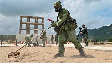 Army Games: Việt Nam toàn thắng chặng 2 tiếp sức nội dung thi Vùng tai nạn