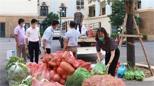 Hội Nông dân Hiệp Hòa hỗ trợ TP Hà Nội hơn 1,5 tấn nông sản để phòng, chống dịch