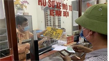 Từ 2/9, Công an Bắc Giang tiếp tục nhận hồ sơ và trả kết quả giải quyết TTHC