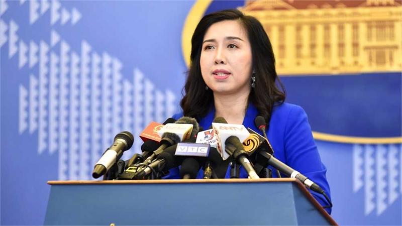 Người Phát ngôn Bộ Ngoại giao Việt Nam lên tiếng trước việc Trung Quốc thi hành Luật ATGT hàng hải sửa đổi
