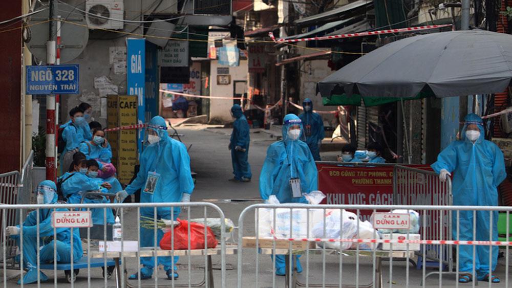 Hanoi, evacuates residents, Covid-19 cluster, Covid-19 pandemic, isolated facility, high population density