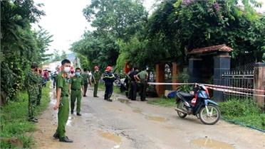 Quảng Nam: Đôi vợ chồng bị vùi lấp dưới đống đổ nát sau tiếng nổ lớn