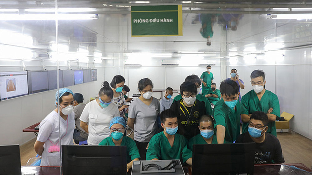 HCMC district, Covid under control, District 7, large expat community, Covid-19 treatment, Covid cases