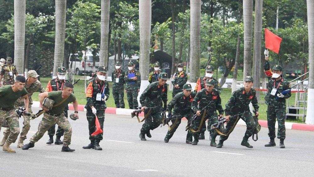 """Army Games 2021: Đội tuyển Việt Nam giành chiến thắng chung cuộc nội dung """"Xạ thủ bắn tỉa"""""""