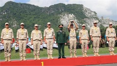 Trao giải Army Games 2021 tại Việt Nam: Việt Nam và Nga giành Huy chương Vàng