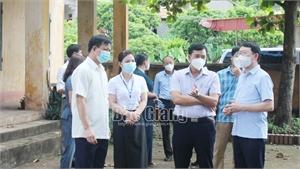 Chủ tịch UBND tỉnh Lê Ánh Dương: Không chủ quan, lơ là phòng dịch khi đón học sinh trở lại trường