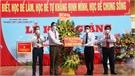 Chủ tịch UBND tỉnh Lê Ánh Dương mong muốn Trường THPT Lạng Giang 3 thực hiện hiệu quả nhiệm vụ trọng tâm năm học mới