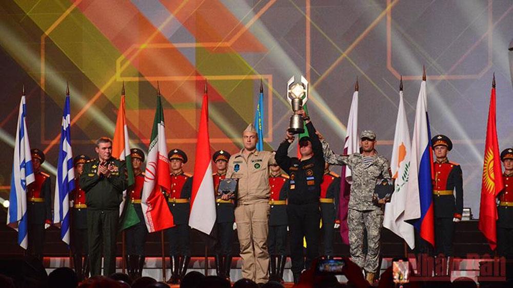 Bế mạc Army Games 2021: Đoàn Việt Nam đứng thứ 7/42