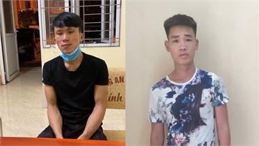 Lục Nam: Hai tên cướp giật điện thoại sa lưới