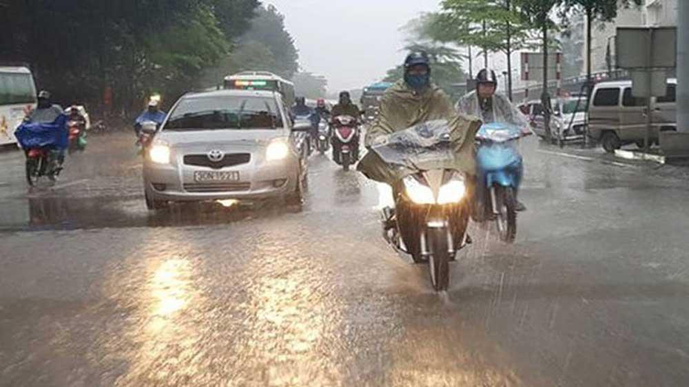 Từ đêm 7 đến 9/9, mưa dông gia tăng ở nhiều nơi trên cả nước