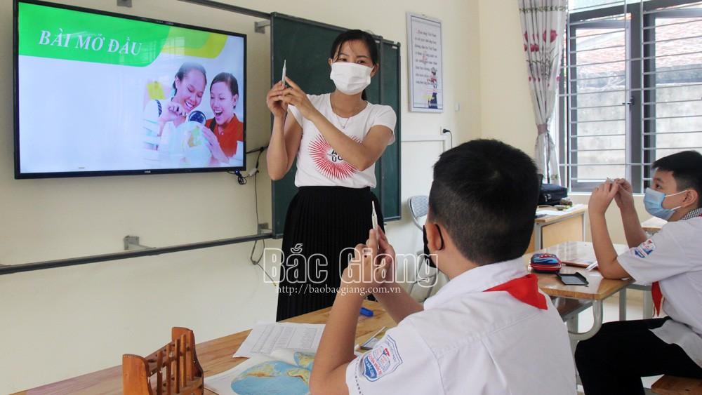 Phòng, chống dịch - bài học đầu tiên của học sinh TP Bắc Giang