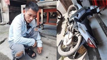 Vừa ra tù lại trộm cắp xe mô tô ở Việt Yên
