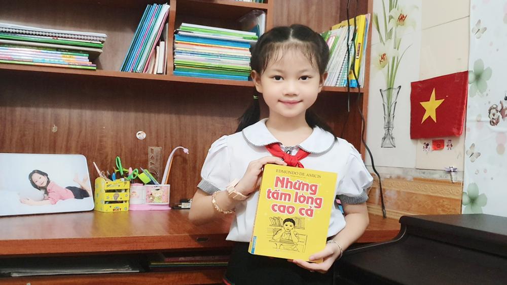 Học sinh lớp 3 giành giải Đại sứ văn hóa đọc tỉnh Bắc Giang