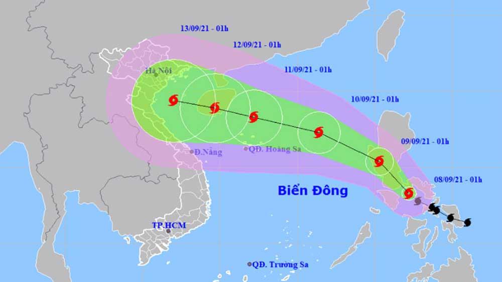 Bão Conson khả năng mạnh cấp 9-10 khi vào Biển Đông