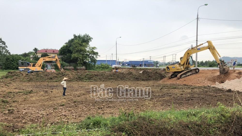 Bắc Giang,Khởi công, xây dựng, tuyến đường, huyện Việt Yên, Lạng Giang