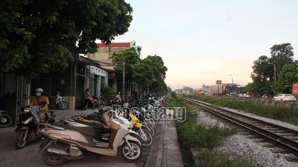 Cần thêm những điểm dừng đỗ đón công nhân trên Quốc lộ 1A đoạn qua huyện Lạng Giang