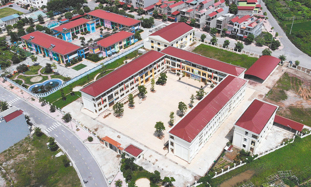 New image, the land of Phoenix, Yen Dung district, Bac Giang province, National Target Programme, new style rural, urban space