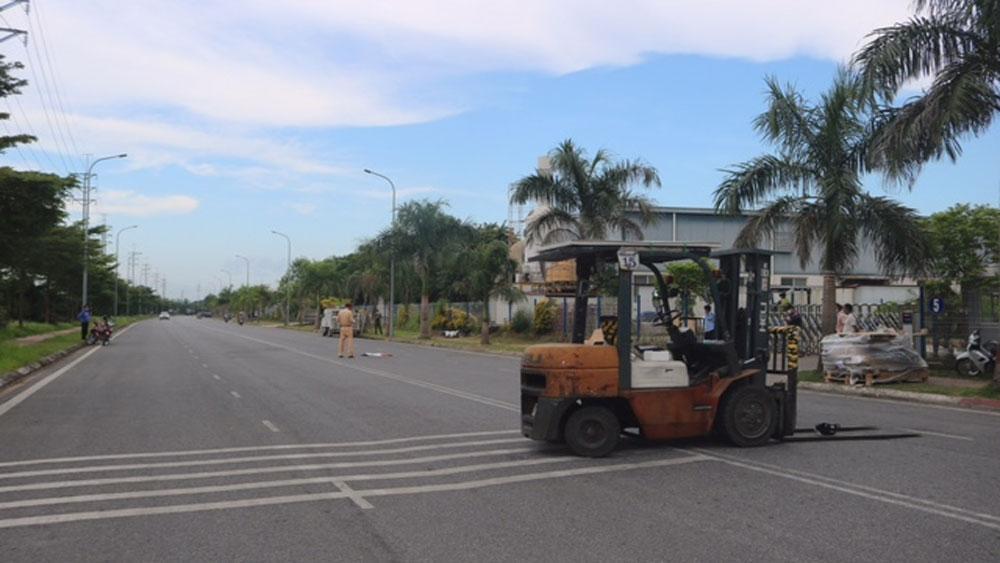 Việt Yên: Tai nạn giao thông khiến 1 người bị thương