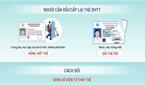 Cách đổi thẻ bảo hiểm y tế giữ nguyên thông tin