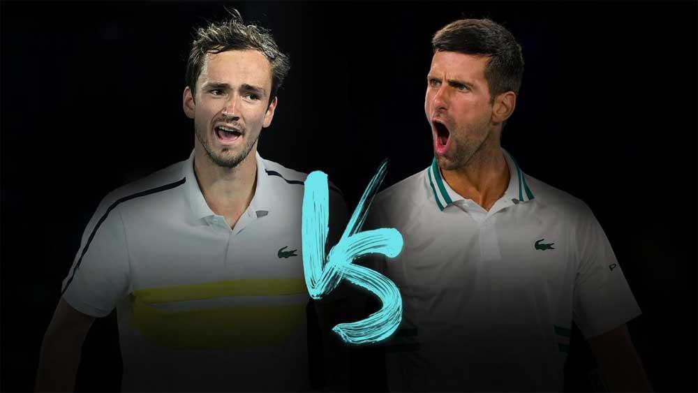 Djokovic đối đầu Medvedev ở chung kết US Open 2021