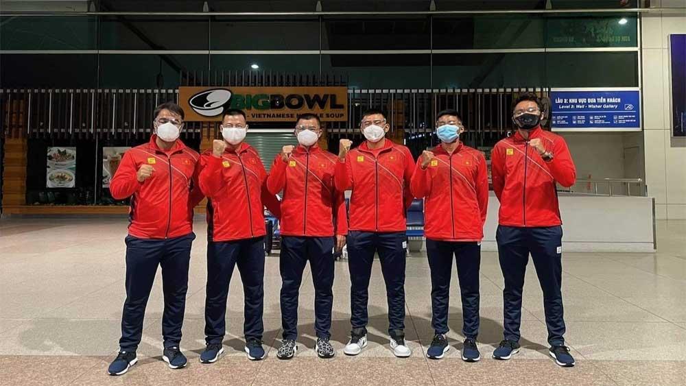 Đội tuyển quần vợt Việt Nam lên đường tham dự giải đồng đội quốc tế Davis Cup
