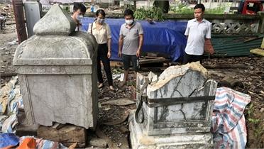 Bắc Giang đề xuất Bộ  Văn hóa, Thể thao và Du lịch phục chế bia đá bị vỡ tại chùa Thổ Hà