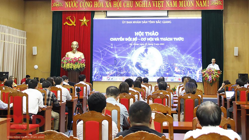 Bắc Giang, Quyết tâm, đi đầu, chuyển đổi số, công nghệ số, số hóa