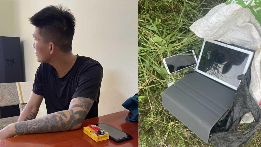 Đột nhập nhà dân, trộm cắp tài sản ở Lục Nam
