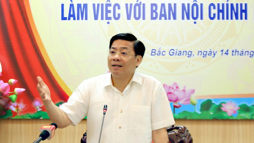 Bí thư Tỉnh ủy Dương Văn Thái: Xử lý kịp thời, nghiêm minh các hành vi tham nhũng, tiêu cực