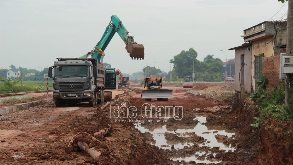 Bắc Giang: Tháng 9, giải phóng mặt bằng xong để cải tạo đường tỉnh 295B