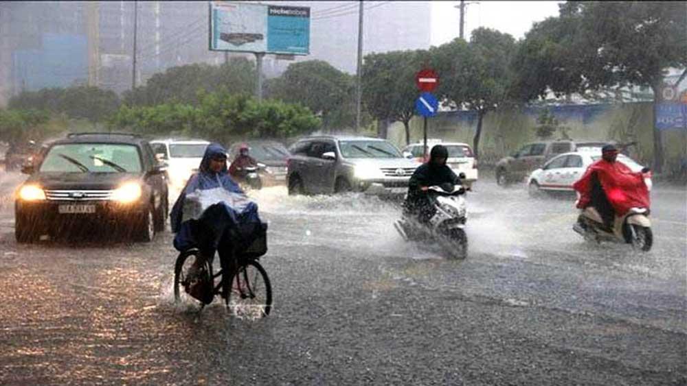 Bắc Bộ, Trung Bộ mưa lớn diện rộng