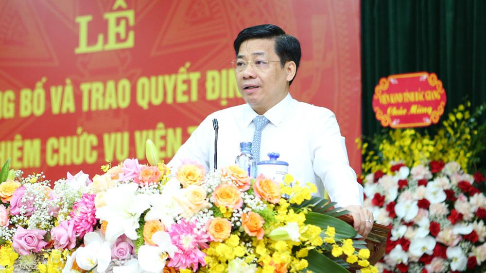 Nguyễn Xuân Hùng, Bắc Giang, Viện trưởng