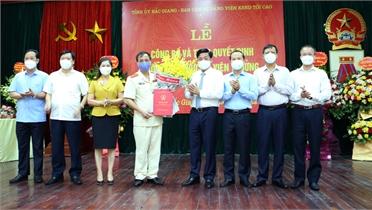 Đồng chí Nguyễn Xuân Hùng giữ chức Viện trưởng Viện Kiểm sát nhân dân tỉnh Bắc Giang