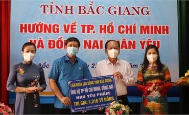 Kêu gọi ủng hộ công nhân lao động các tỉnh phía Nam bị ảnh hưởng bởi dịch Covid-19