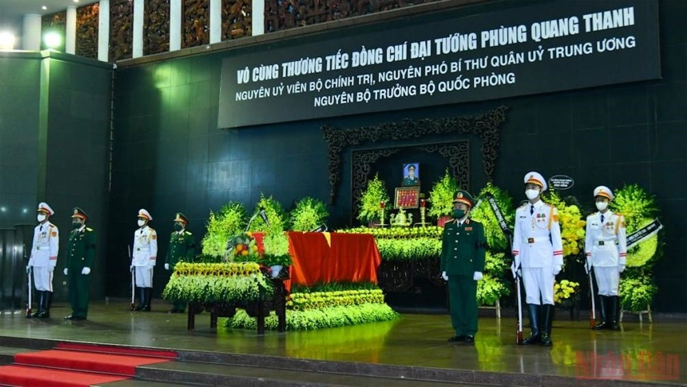 State funeral held for former Defence Minister Phung Quang Thanh