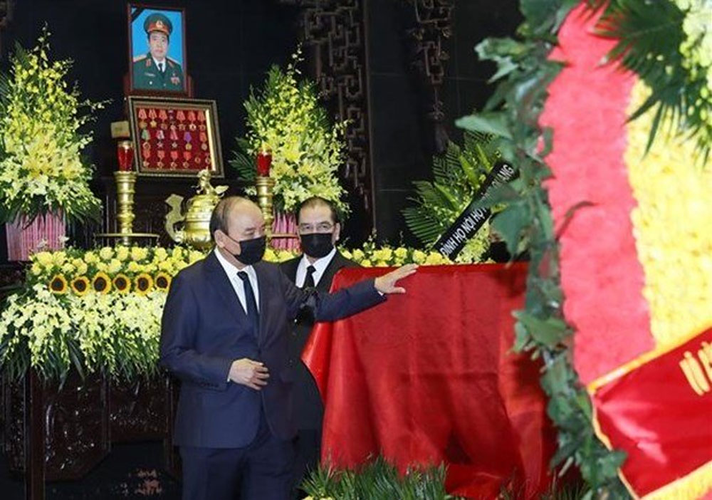 State funeral, former Defence Minister, Phung Quang Thanh,  state-level funeral, Central Military Commission, period of illness