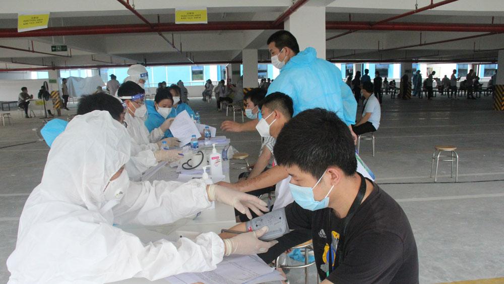 rà soát, bệnh nhân, phòng dịch, Covid-19, Bắc Giang, vắc xin.