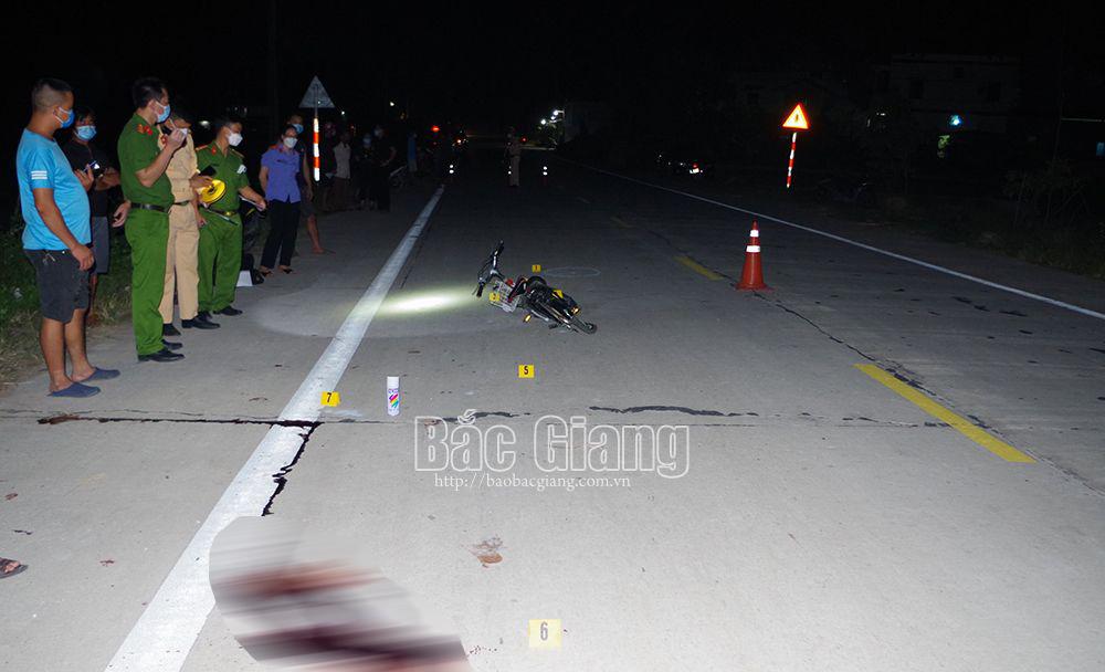 Bắc Giang, tai nạn giao thông, trẻ em, huyện Hiệp Hòa