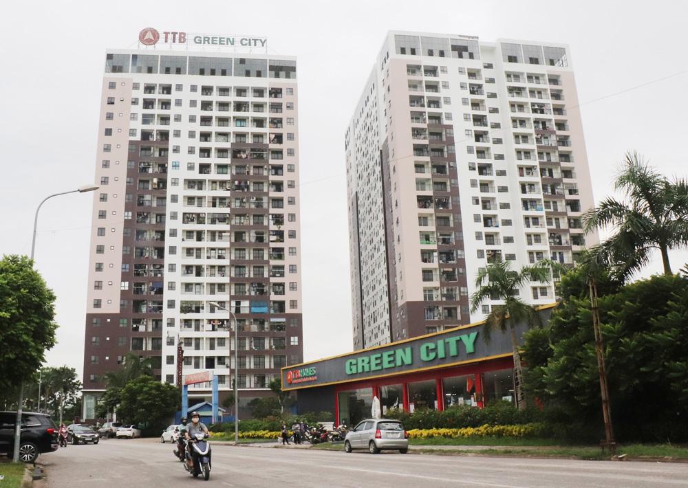 chung cư cũ phường Trần Nguyên Hãn, chung cư Green City, Bắc Giang