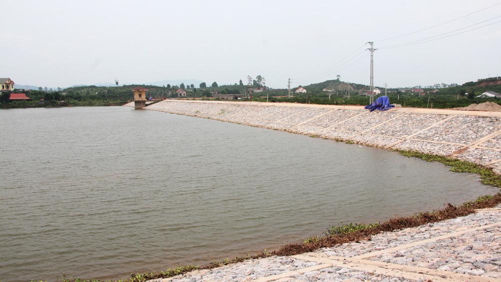 Dự án sửa chữa và nâng cao an toàn hồ đập: Không để chậm tiến độ vì mặt bằng