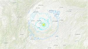 Động đất 6 độ khiến Trung Quốc kích hoạt phản ứng khẩn cấp