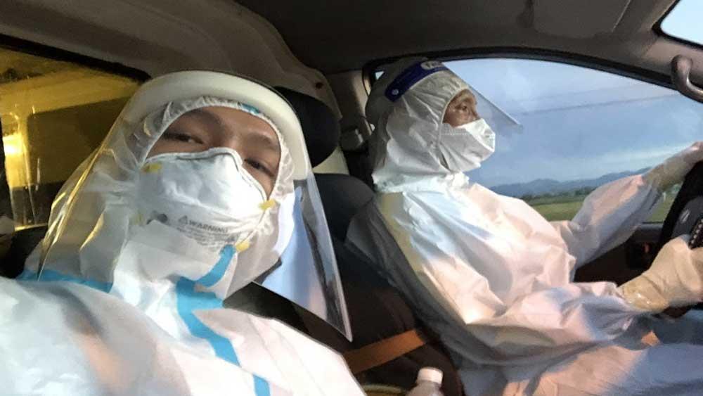 Rời tâm dịch Bắc Giang, hai bố con Đặng Minh Trí, lăn lộn, một tháng, tâm dịch TP HCM