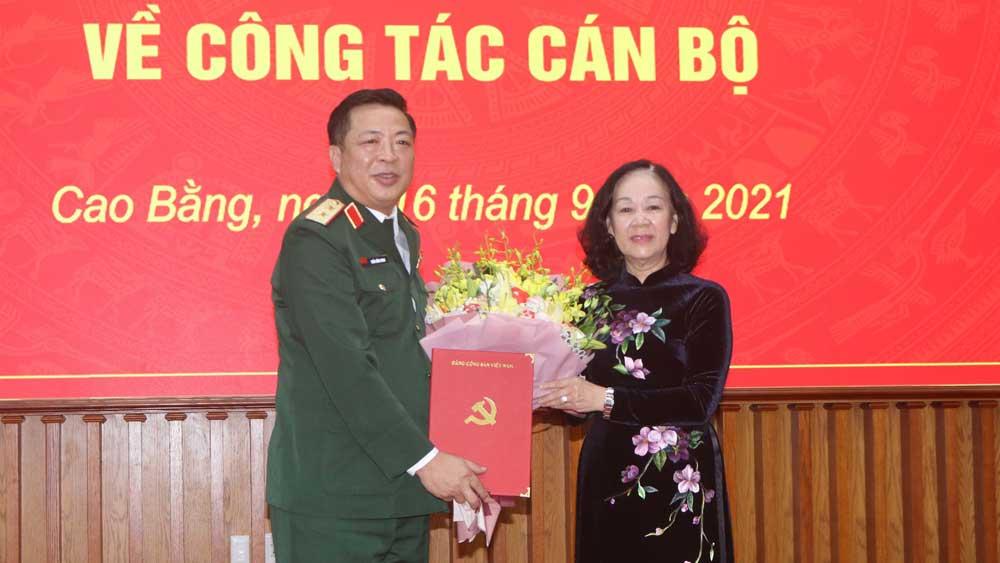 Đồng chí Trần Hồng Minh giữ chức Bí thư Tỉnh ủy Cao Bằng