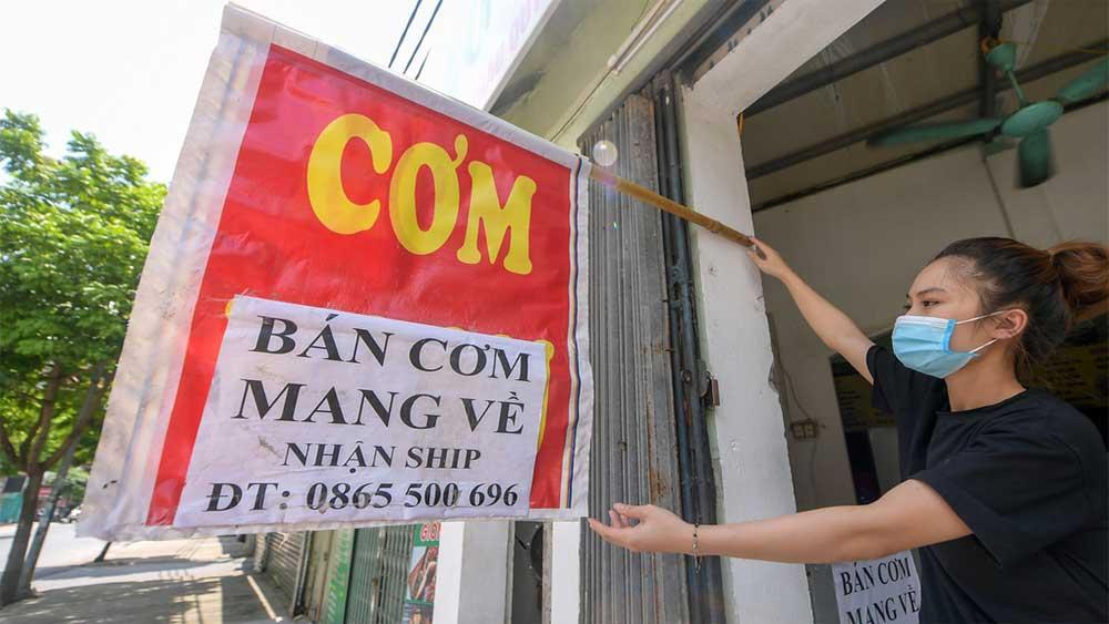 Hà Nội, không kiểm soát, giấy đi đường, 19 quận, huyện
