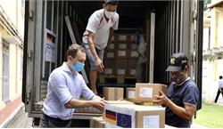 Đức hỗ trợ Việt Nam hơn 850.000 liều vaccine