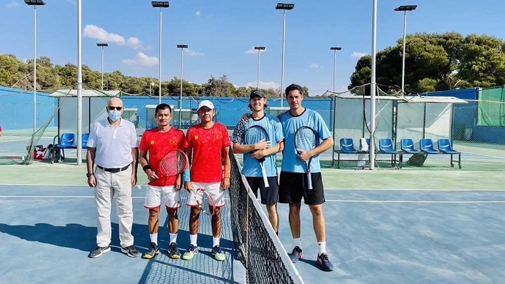 Quần vợt Việt Nam, khởi đầu thuận lợi, Davis Cup 2021