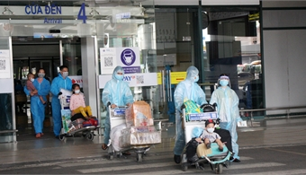 Bac Giang continues to pick up citizens from HCMC, Binh Duong and Dong Nai