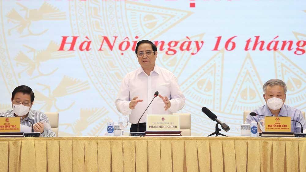 Thủ tướng Phạm Minh Chính, Chống tham nhũng, tiêu cực, lợi ích nhóm, xây dựng, hoàn thiện thể chế