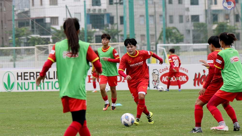 Vòng loại Giải Bóng đá nữ châu Á 2022: Đội tuyển Việt Nam chỉ còn hai đối thủ tại bảng B